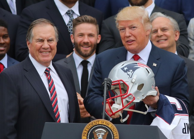 President Trump Plans To Honor Patriots HC Bill Belichick With Medal Of Freedom Amid White House Turmoil Following US Capitol Riot