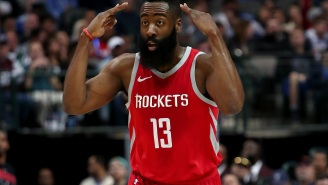 Rockets Fans Are Leaving Nasty One-Star Reviews For James Harden's Upcoming Houston Restaurant