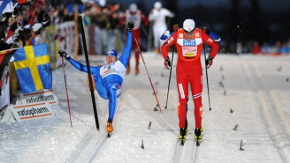 We've Got A Nordic Skiing Fight Of The Year Candidate!