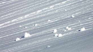 This POV GoPro Footage Of A Snowboarder Getting Caught In A Avalanche Is Crazy Intense