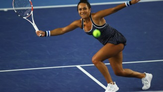 Pro Tennis Player Heather Watson Tries To Stay In Shape While Quarantining By Running 3 Miles In Her Hotel Room