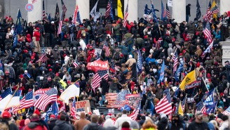 Images Of Protesters Storming The Capitol, Clashing With Police Are Utterly Mindblowing