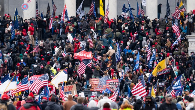 Images And Videos Of Protesters Storming The Capitol In Washington DC