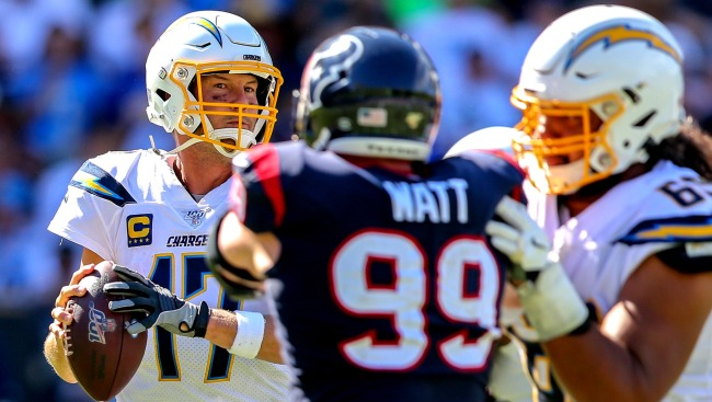 JJ Watt Story About Philip Rivers Telling Opponent Hes Lined Up Wrong