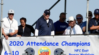 Jerry Jones Gloating About Winning The NFL Attendance Record This Season Should Quiet The Haters