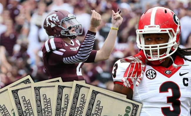 Johnny Manziel Todd Gurley Joke About Being Paid In College
