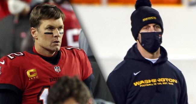 Micd Up Tom Brady Spoke To Alex Smith After Saturdays Wild Card Game