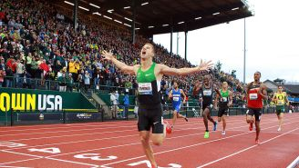 Former Olympian Nick Symmonds Told Us About The Immense Pressure Professional Athletes Put On Themselves Even When They Win