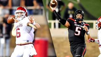 A Look Back At Patrick Mahomes And Baker Mayfield Combining For 1,382 Yards, 14 TDs In One Game