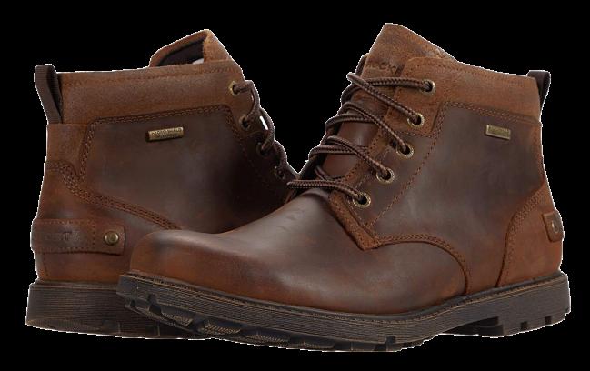 Rockport Waterproof Rugged Bucks II Chukka Boots