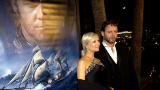 Russell Crowe Rips The 'Kids These Days' For Making Fun Of His Movie 'Master And Commander'