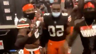 Browns Players Mocked JuJu Smith-Schuester's Dancing After Beating The Steelers To Reach The Playoffs