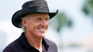 Greg Norman Comments On The Viral Beach Bulge Photo That Shook The Nation