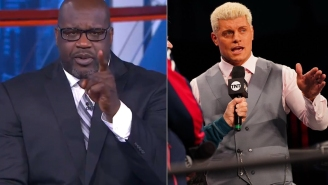Shaquille O'Neal Challenges AEW Star Cody Rhodes To Match – And Rhodes Accepts – But Two More People Will Likely Be Involved