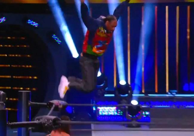Snoop Dogg Splash AEW Dynamite