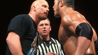 Steve Austin Explains The Stuff Wrestlers Say To One Another When Standing Face-To-Face Before Matches