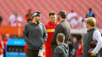 Dear Chiefs Fans: Baker Mayfield's Outplayed Patrick Mahomes Since Week 9, So Expect A Browns Win Sunday