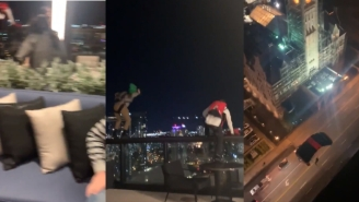 WATCH: BASE Jumpers Leap Off Nashville Rooftop Bar – The Best Way To Skip Out On Your Tab