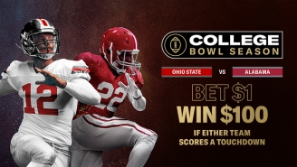 BetMGM's Giving Away $100 Off $1 If Either Team Scores A TD In CFB National Championship Game