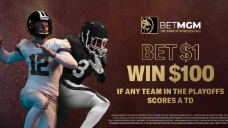 BetMGM Deal Alert: Bet $1 To Win $100 In Free Bets If ANY Team Scores A TD In NFL Playoffs During Championship Sunday