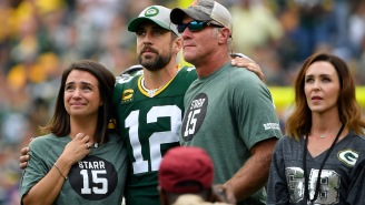 Brett Favre Says Fans Shouldn't Read Too Much Into Aaron Rodgers' Postgame Comments After NFC Championship Loss