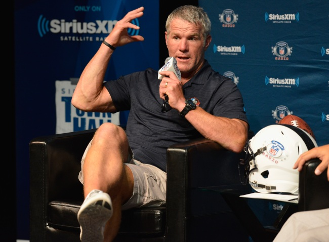 Twitter had a good time joking about Brett Favre being the guy lounging in Nancy Pelosi's office chair during Capitol takeover