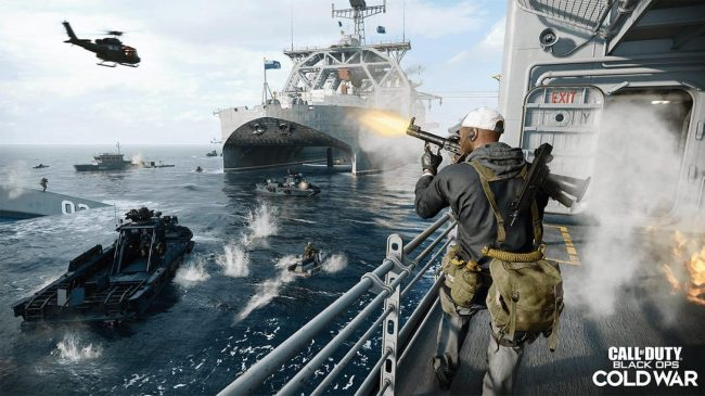 Call Of Duty: Black Ops Cold War most downloaded Sony PS5 video games