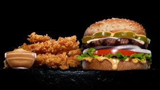 Carl's Jr. Is Spicing Up Its Burgers And Chicken Tenders With A New Habanero-Ranch 'Fiery Sauce'