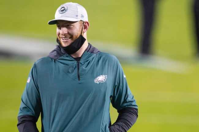 NFL Insider suggests Carson Wentz is tradable because another NFL team will try to fix struggling quarterback