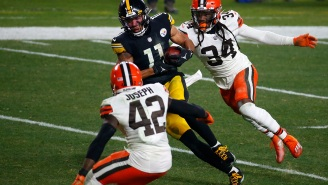 Tough Guy Chase Claypool's Still Trying To Talk Trash To Browns After His Steelers Got Beatdown On National TV