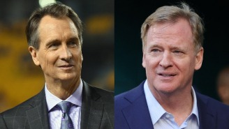 Cris Collinsworth Fears Retribution From The League After Ripping The Eagles For Blatant Tanking