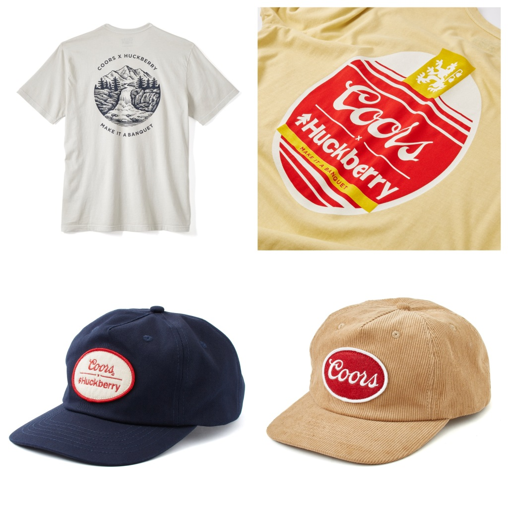 Coors Banquet x Huckberry limited edition collaboration
