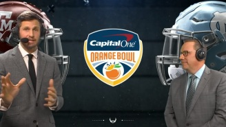 Fans React To ESPN's Dan Orlovsky Going On Random Rants Against Horror Movies And Cheeseburgers During Orange Bowl Game