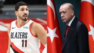 The FBI Installed A 'Panic Box' In Enes Kanter's Hotel Room After Receiving Weekly Death Threats Over His Criticism Of Turkish President
