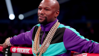 Floyd Mayweather Jr. Is Reportedly Engaged To An Exotic Dancer And Spared No Expense On The Ring