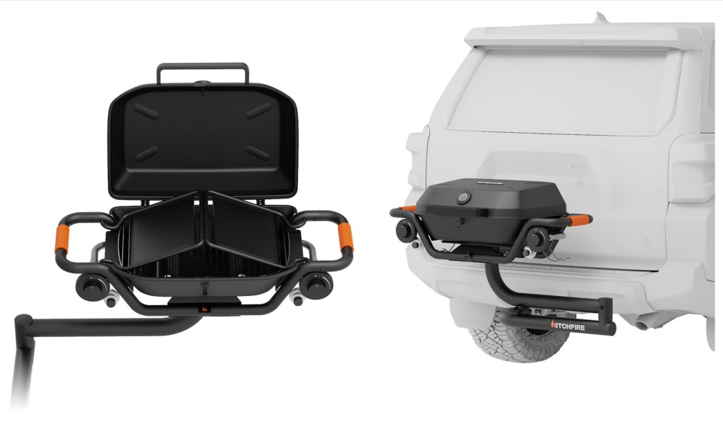 HitchFire Trailer Hitch-Mounted Grill Forge 15