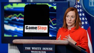The Government Officially Responds To The GameStop Stock Phenomenon, Biden Team 'Monitoring' The Situation