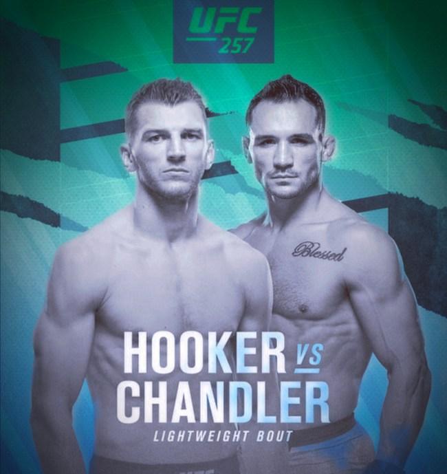 UFC 257: Hooker vs. Chandler ESPN+ PPV
