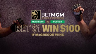 Bet $1, Win $100 In Free Bets If Conor McGregor Wins UFC 257 Tonight