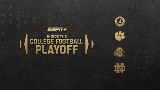 Before The Natty Champ, Watch 'Inside the College Football Playoff' On ESPN+
