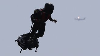 Internet Sleuths Think They've Identified The 'Jetpack Guy' In Los Angeles And It Might Not Actually Be A Person