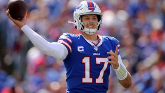 Josh Allen Pledges To Jump Through A Bunch Of Flaming Tables If The Bills Win The Super Bowl