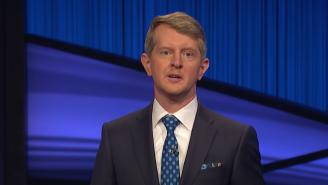 Ken Jennings Used This Memento From Alex Trebek's Career For Good Luck While Hosting 'Jeopardy!'