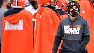 Browns Head Coach Kevin Stefanski Tests Positive For COVID, Will Reportedly Miss Playoff Game Against Steelers