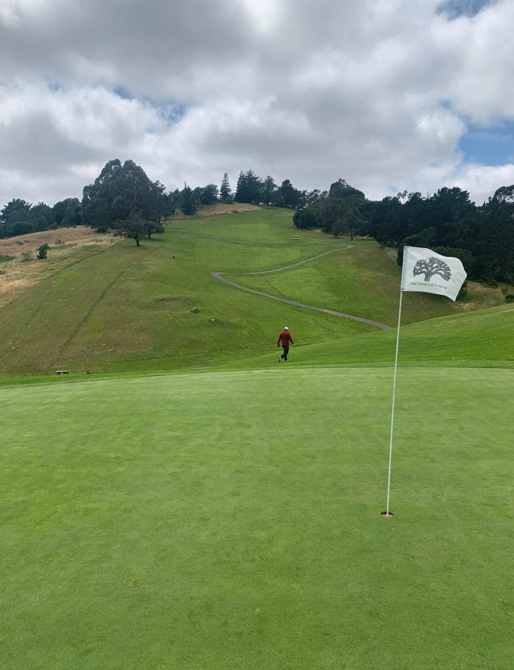 Lake Chabot Golf Course Par-6 Hole