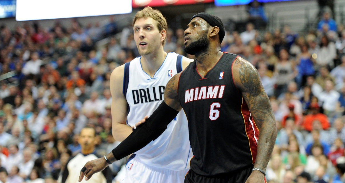 Why Dirk Nowitzki hated LeBron James and Dwyane Wade
