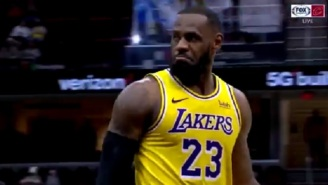 Cavs Exec Sitting Courtside Talked Trash To LeBron James And He Responded By Torching The Cavs With 21 Point Fourth Quarter