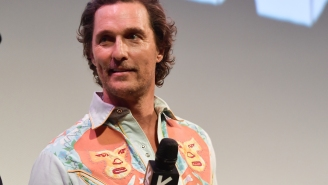 Matthew McConaughey Laughs About The Night He Got Kicked Out Of A Wrestling Show For Spitting On A WWE Legend