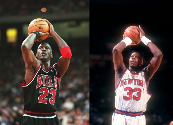 Dream Team teammates Michael Jordan injured his neck by wrestling Patrick Ewing during the Olympics.