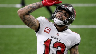 I Think Mike Evans Might've Forgotten The Bucs Added Tom Brady, Gronk, Antonio Brown And Leonard Fournette